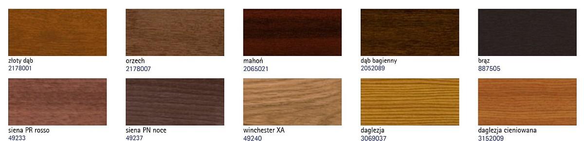 Kolory VEKA - drewno