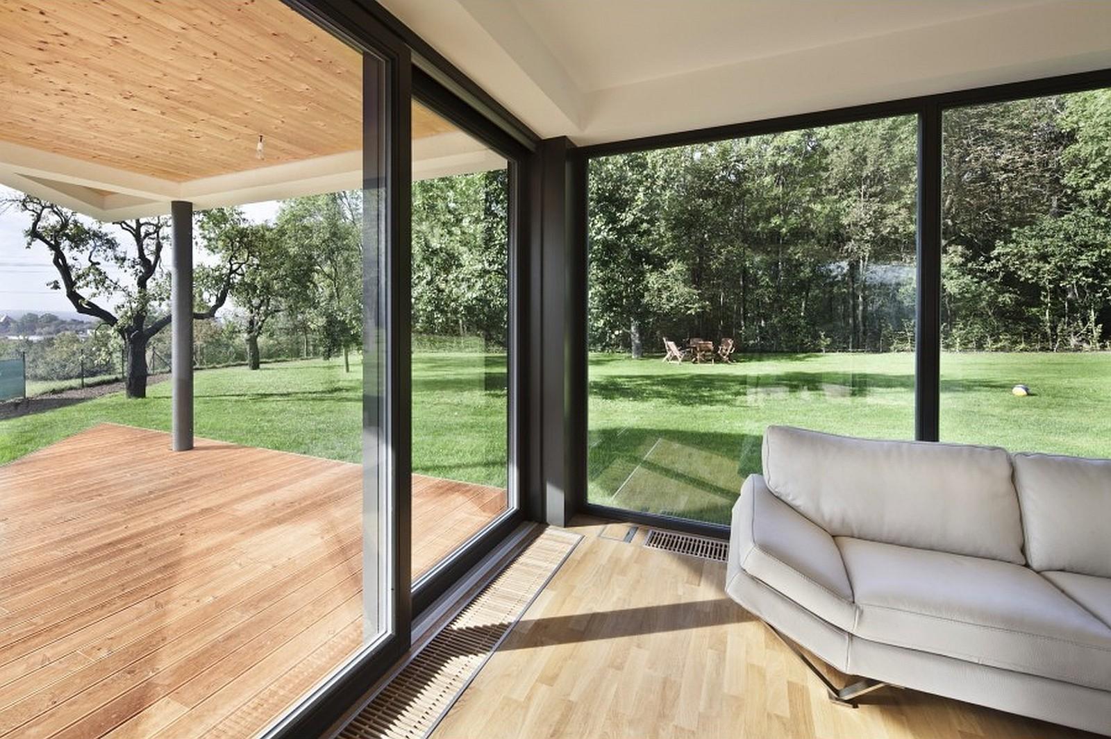 Drzwi i okna tarasowe bezprogowe przesuwne
