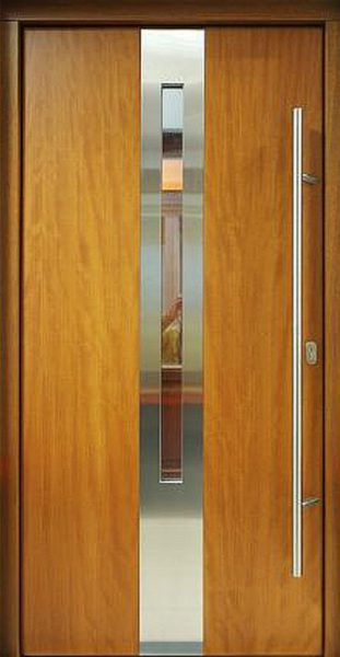 Nowoczesne drzwi wejściowe